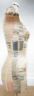 画像9: 【 送料無料 】  ヴィンテージ トルソー ボディー マネキン 女性 店舗什器 アトリエ インテリア リネン 裁縫 洋服掛け