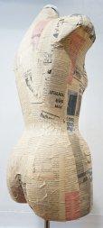 画像8: 【 送料無料 】  ヴィンテージ トルソー ボディー マネキン 女性 店舗什器 アトリエ インテリア リネン 裁縫 洋服掛け