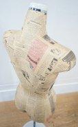 画像4: 【 送料無料 】  ヴィンテージ トルソー ボディー マネキン 女性 店舗什器 アトリエ インテリア リネン 裁縫 洋服掛け