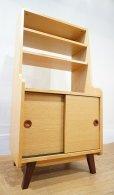 画像2: 【 展示品 】  収納棚 キャビネット シェルフ サイドボード 本棚 飾り棚 書棚 北欧モダン