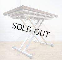 イタリア製 リフティングテーブル リフトアップテーブル 昇降テーブル ローテーブル センターテーブル ダイニングテーブル エクステンション 伸縮 拡張
