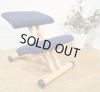 【 美品 】  北欧  ノルウェー Varier by Stokke ストッケ バランスチェア 学習椅子 デスクチェア ヴァリエール マルチ Varier Multi ブルー