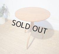 ACTUS modulus モデュラス THOMAS STENDER ワインテーブル サイドテーブル 円形 コーヒーテーブル 花台 曲げ木 チェリー材 北欧モダン