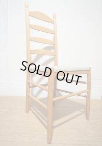 イタリア カリガリス ハイバック ラダーバック ダイニングチェア 椅子 イス 北欧 在庫2脚 (2)